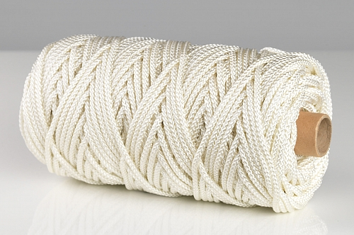 4mm x 50m White Nylon Blind Cord