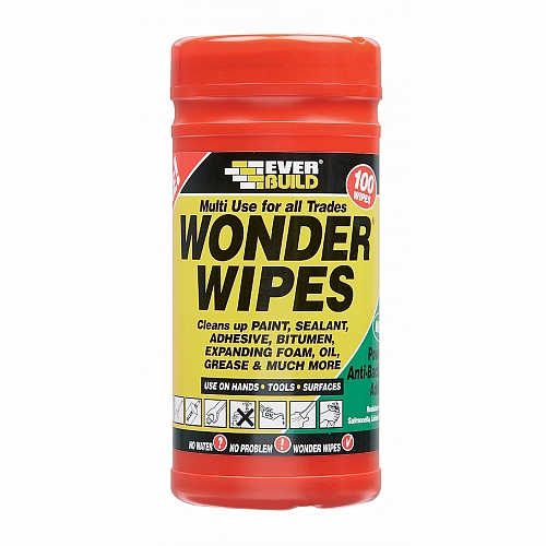 Everbuild Wonder Wipes (100 Per Tub)