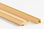 Oak Solid 3m Parting Bead and Channel (30 Lengths)