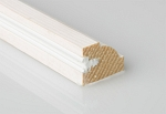 25mm x 20mm 3m Cliveden Timber Staff Bead Primed (Single Length)