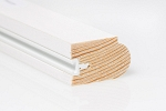 32mm x 20mm 3m Timber Staff Bead Primed  (Single Length)