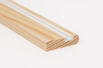 28mm x 8mm 3m Timber Parting Bead Unprimed (30 Lengths)