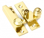 Lockable 67mm Reeded Knob Sash Fastener